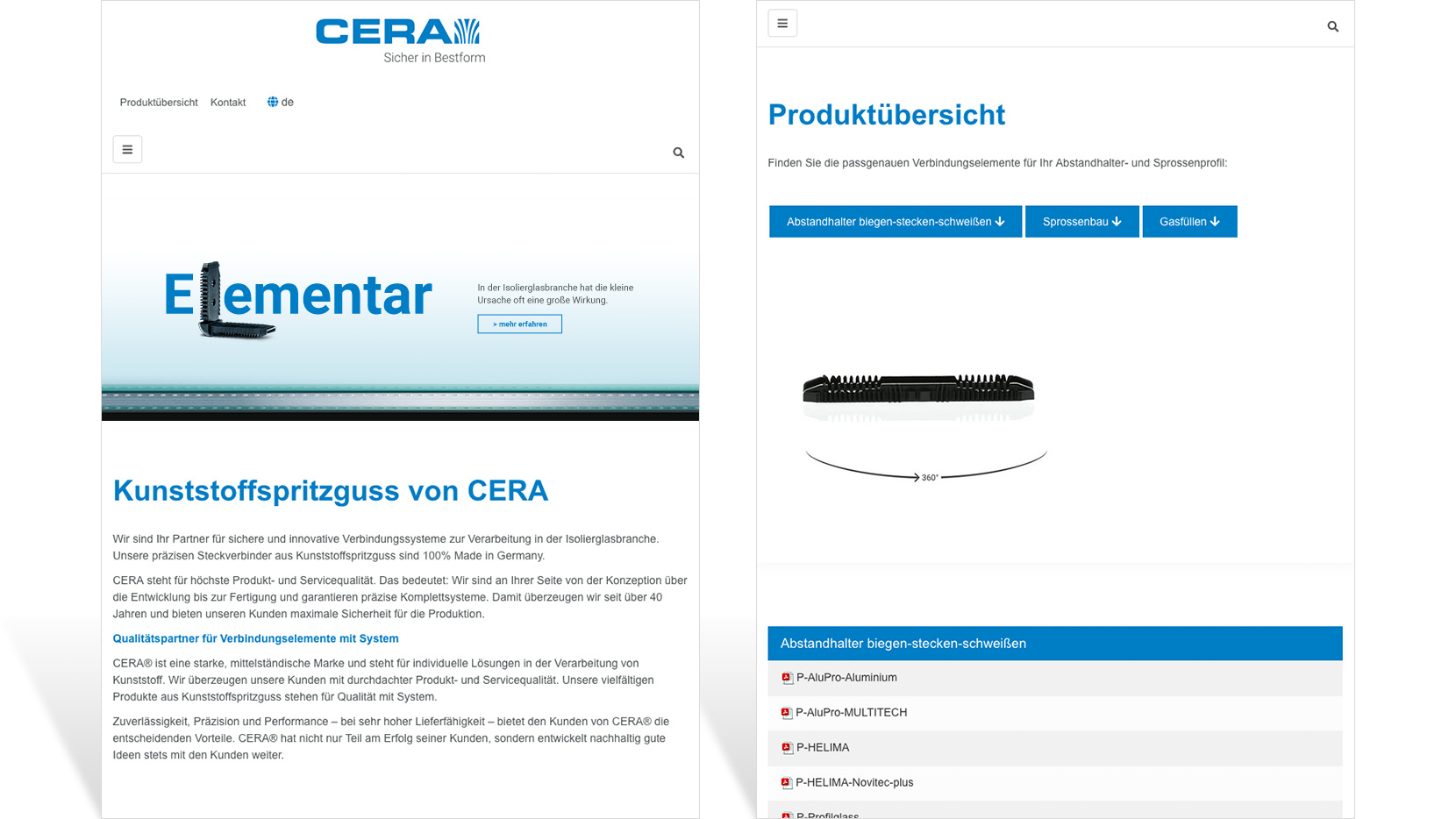 Cera Screendesign Tablet